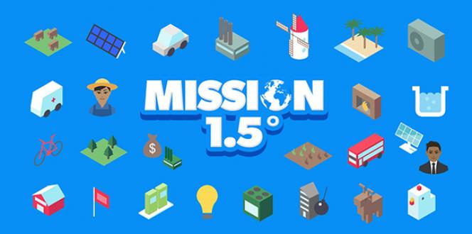Mission 1.5 : le jeu sur le changement climatique