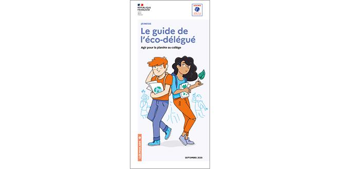 Couverture du guide éco-délégué février 2020