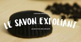 Trousse de toilette Zéro Déchet : savon exfoliant